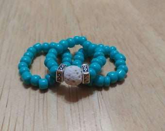 Stackabe Beaded Rings
