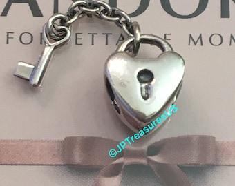 e586a1cba5296 Pandora key my heart | Etsy
