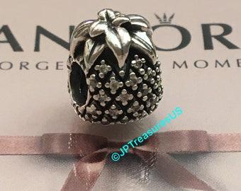 043344aae Authentic Pandora Sparkling Pineapple Charm Pandora Retired Pandora Charm  Pandora Free Shipping