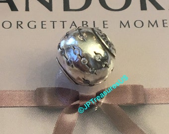 fe1899923 Authentic Pandora Trust Charm From Essence Collection with Clear Cubic  Zirconia Charm Retired Pandora Charm Pandora Free Shipping