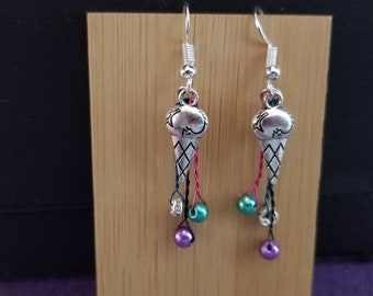 Ice cream drips (bead and wire)