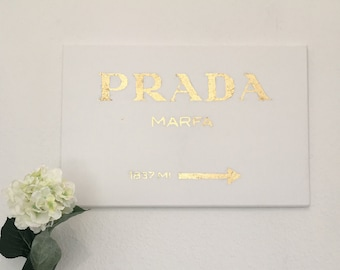 Prada MARFA Gold Picture