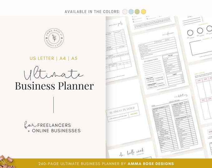 Business Planner Bundles