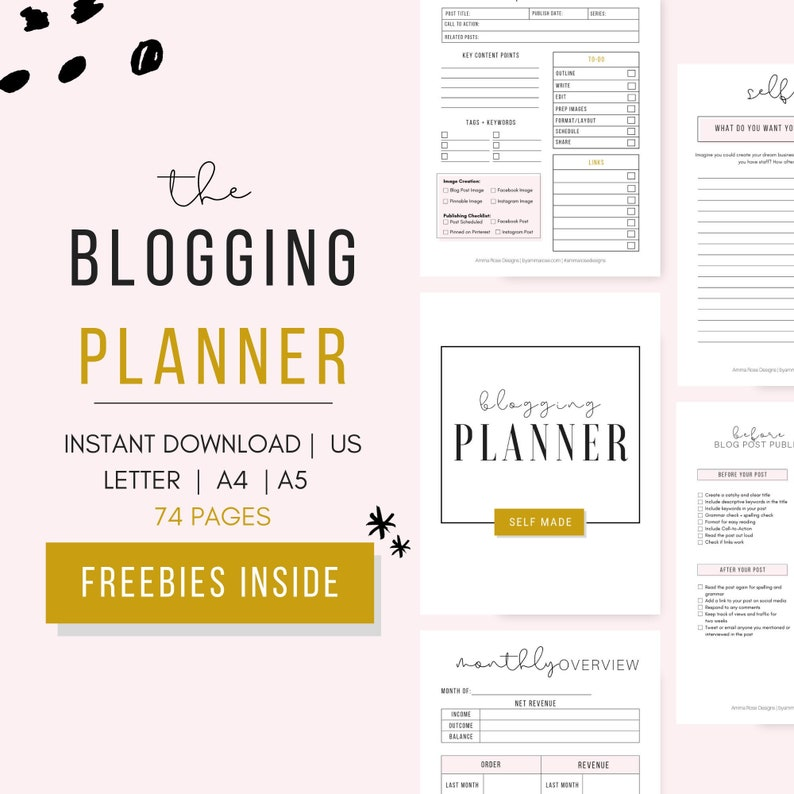 graphic regarding Blog Planner Printable named Printable Web site Workbook, Weblog Planner, Blog site Report Planner, Small business Planner, Weblog Organizer, Printable Planner , Blogger Planner