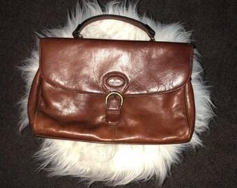 Genuine Leather Vintage Handbag