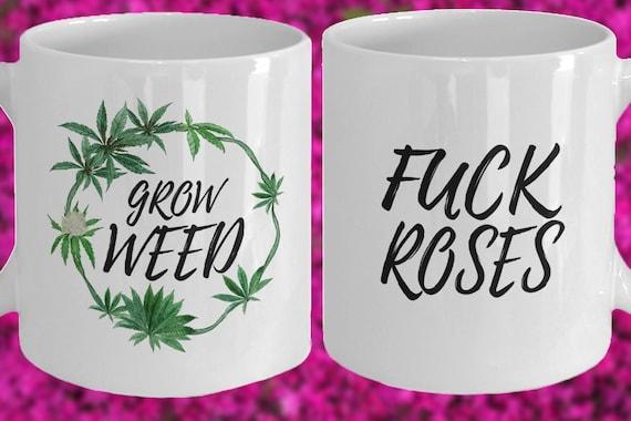 Profanity Gifts Fuck Mom Coffee Swear Cannabis Marijuana Men Weed Women For Mug Word PwOZuXiTkl