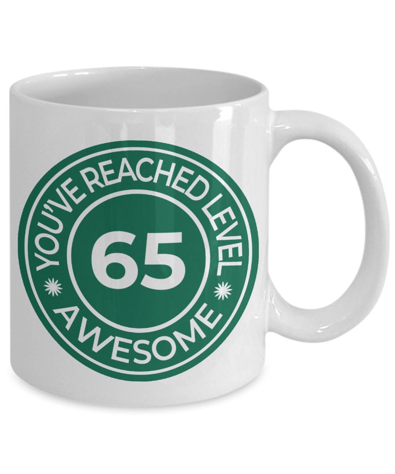 65th Birthday Mug Gifts For Men
