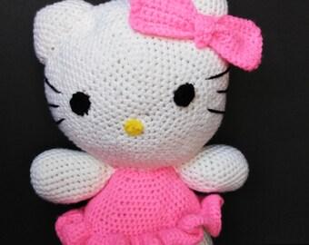 Crochet hello kitty etsy