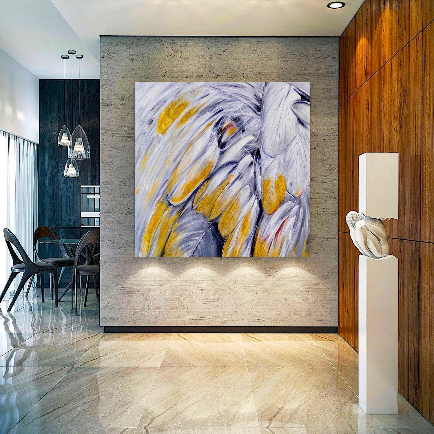 Large Oil Painting Abstract Oil Painting On Canvas For
