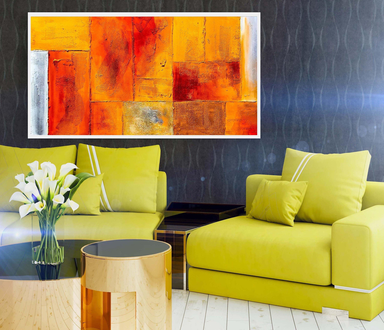 Große Abstrakte Ölgemälde auf Leinwand für Wohnzimmer Wohnkultur ...