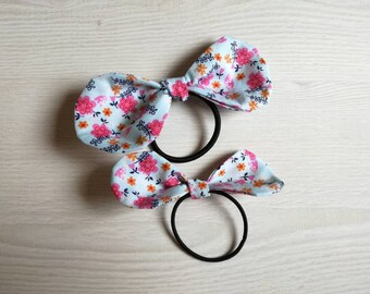 Set of two hair elastics for moms and girls