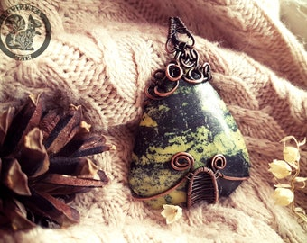 "Pendant ""Into the Dark Forest"""