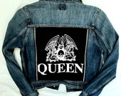 Womens Denim ROCK jacket-size L XL