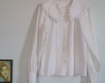 Vintage Collard Blouse
