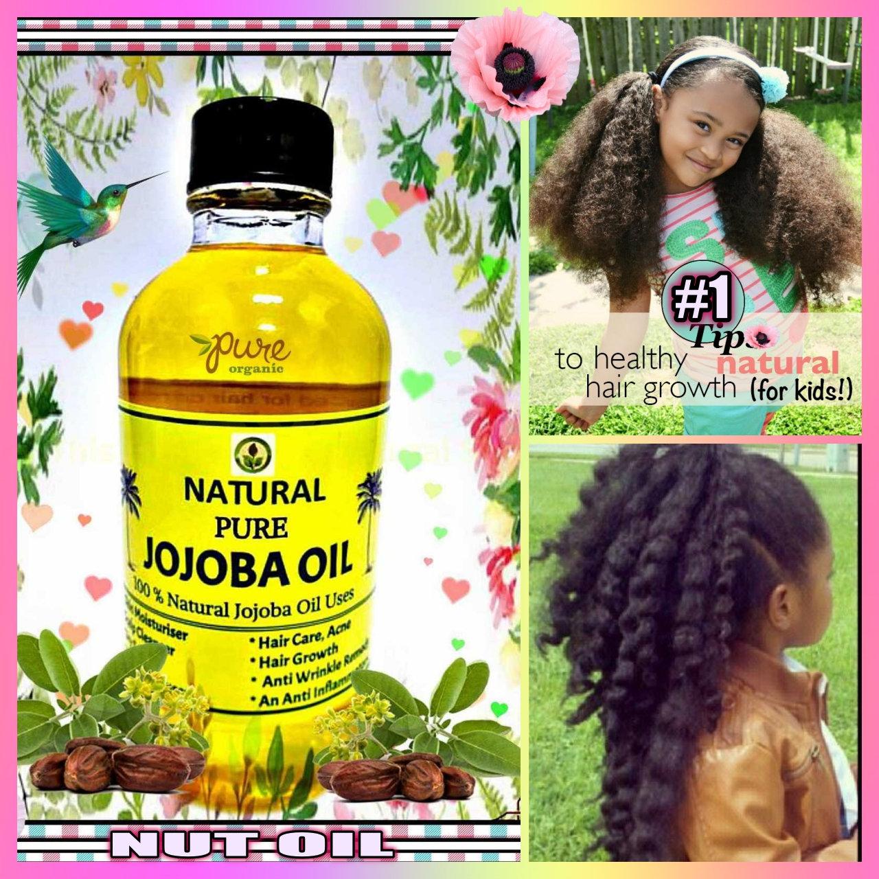 Organic Jojoba Oilhair Growth Oilstronger Hairdamaged Hair