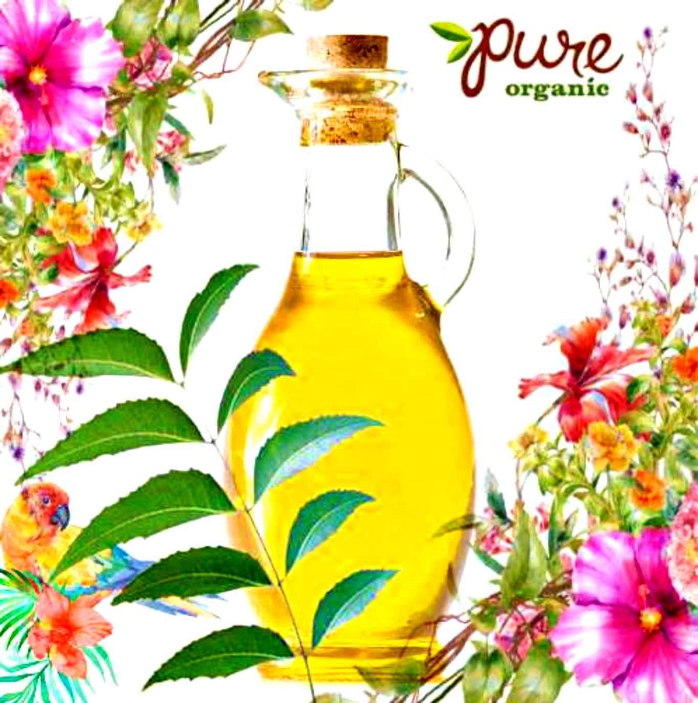 Organic Neem Oil/Cleanse Hair/ Kills Lice/ Acne Oil/ Acne