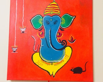 Colorful Lord Ganesha for your home!