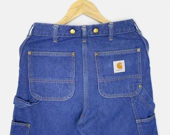 5b4c1146474 Carhartt Jeans Carhartt Pants Carhartt Work Denim Vintage Carhartt Double  Front Logger Jeans Made in Japan Size 28-29