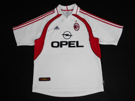 Adidas Shirt AC Milan Shirt Vintage Adidas AC Mila