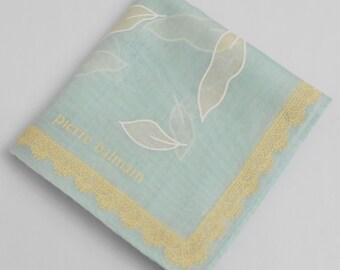 Pierre Balmain Handkerchief Pierre Balmain Vintage Hanky Handkerchief Pierre Balmain Pocket Square Scarf