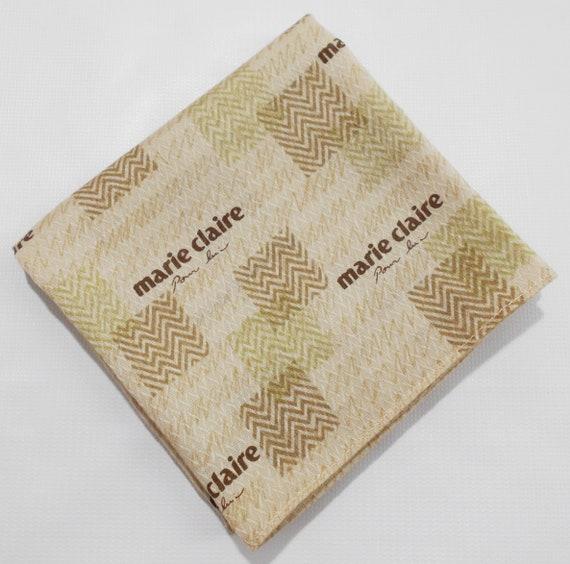 Marie Claire Handkerchief Marie Claire Vintage Han