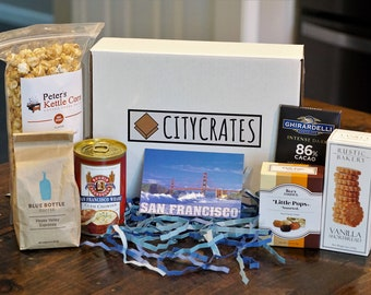 San Francisco Gift Box | Bay Area Gift Box | SF in a Box | San Francisco Box | San Francisco Treats | Corporate Event | Hand-picked