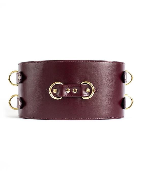 BDSM Belt, Leather Bdsm Belt, Fetish Belt, Bondage Belt, Leather Bondage, BDSM Gear, BDSM Woman Gear, Bdsm Gift, Leather Restraints