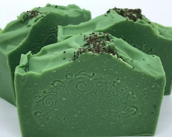 ORIENTAL DELIGHT Handmade Vegan Soap with French Green Clay