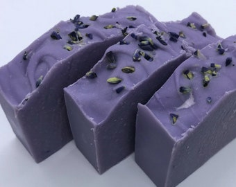 GOATS MILK Handmade Soap with Lavender Essential Oil