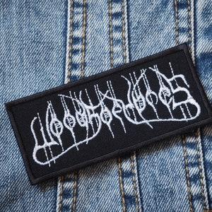 Doom Metal Thrash Metal Black Metal POSSESSED Embroidered High quality Logo Patch for fans of Industrial Metal Death Metal Punk Rock