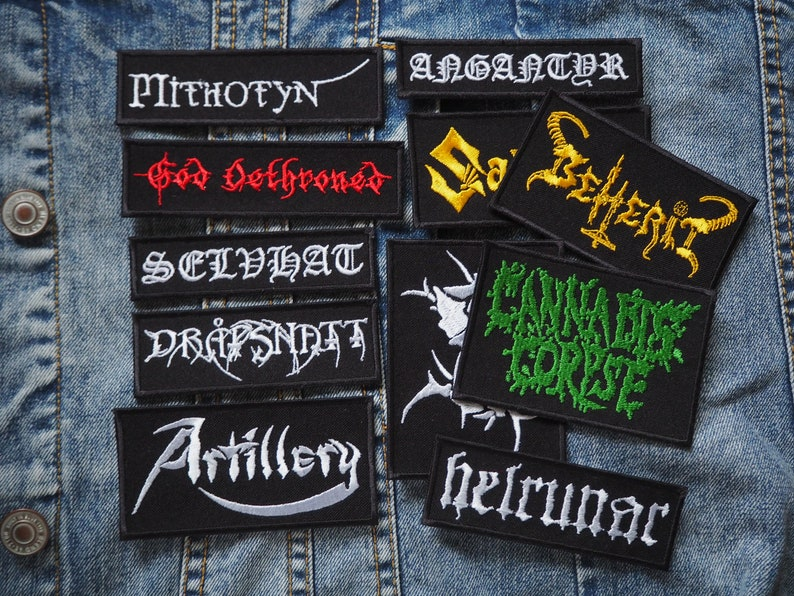 METAL PATCHES #004 Various