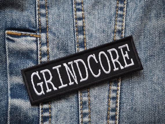 Grindcore  Noisecore  Noise  Death Metal  Punk  D-beat  Antimusic Embroidered Patch