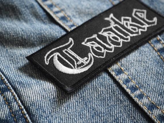 Logotipo TAAKE bordado Parche Negro Metal Noruega Thule Gorgoroth Hoest Mayhem Inmortal Darkthrone Burzum Ragnarok Bosque Cárpato Helheim