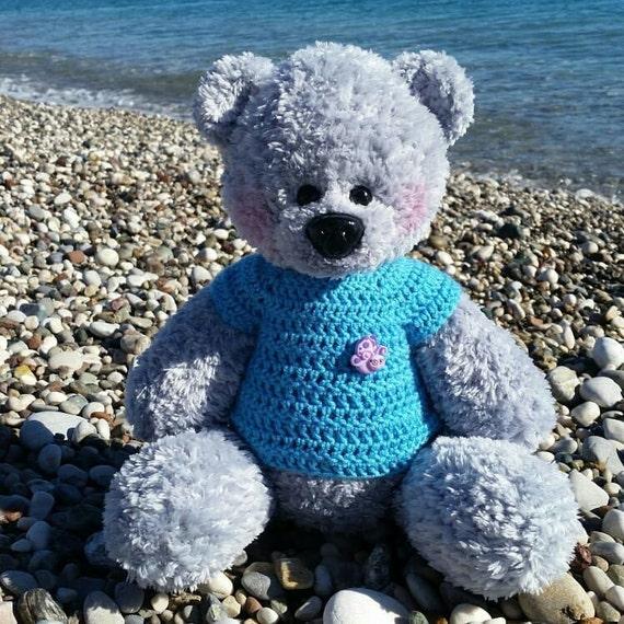 Amigurumi Bear Toma Free Pattern in 2020 | Crochet bear patterns ... | 570x570