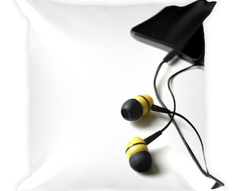 Music Headphone and Cell Pillow