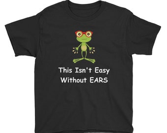 Frog Shirt/ Frog With Glasses/ Frog Shirt For Boys/ Frog Shirt For Girls/ Kids Frog Tee Shirt/ Cute Frog T-Shirt/ Frog Gifts For Kids