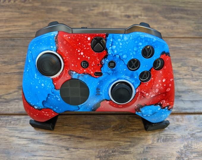 Red vs Blue - Custom Xbox Elite V2 Wireless Controller Shell