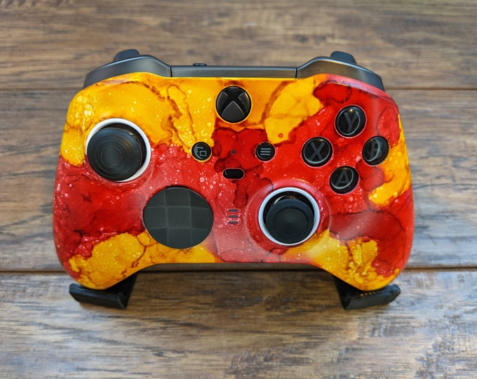 Poppies and Sunflowers - Custom Xbox Elite V2 Wireless Controller Shell