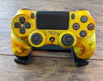 Aztec Gold - Custom PlayStation 4 Wireless Controller Shell