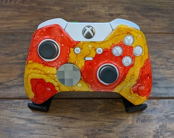 Poppies and Sunflowers - Custom Xbox Elite V1 Wireless Controller Shell