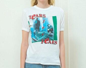 tears for fears t shirt | tears for fears band tee | 80s tears for fears shirt | tears for fears concert tee | band shirt | 1980s