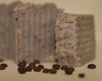 Almond Coffee Crunch, Sea to Farm, Handmade Soap