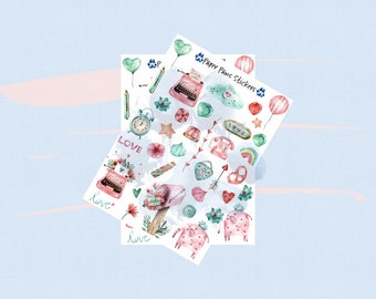 Paper Paws Stickers
