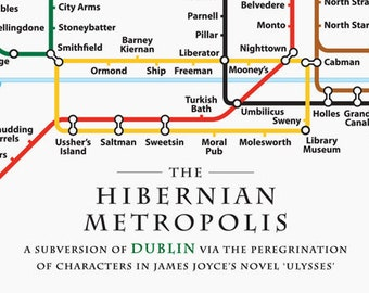 The Hibernian Metropolis Ulysses Poster