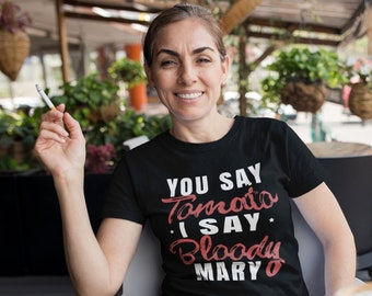 633f27c3a Funny Brunch Shirts For Women. Bloody Mary