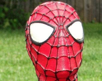 3D printed Spiderman bust