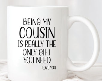 Mug Favorite Family Gift Birthday Christmas Cousin You are My Fav