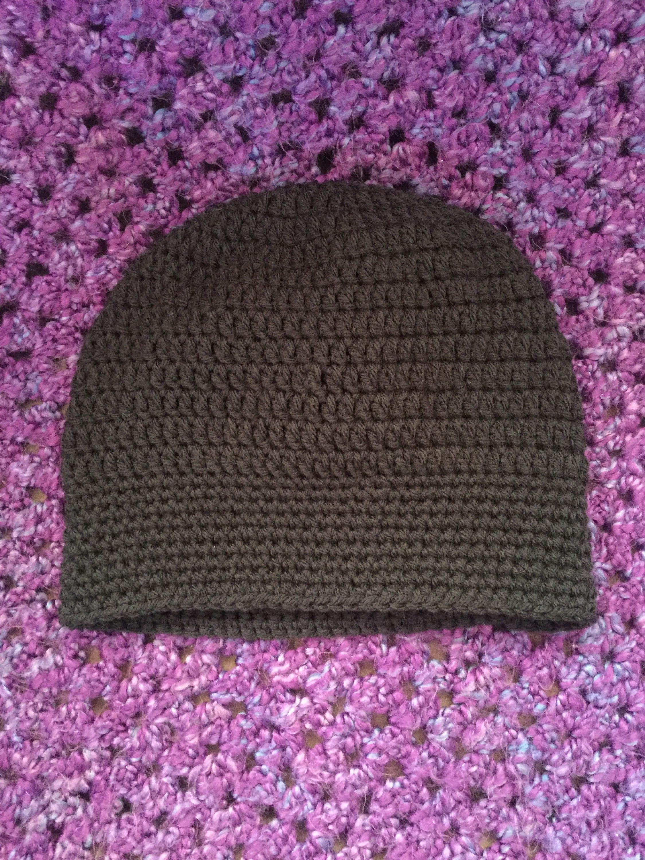 162b1ddb19a How To Crochet A Slouchy Beanie - Parchment N Lead