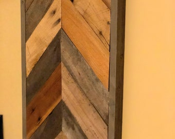 e3fa32b32f3a Wood plank wall hanging