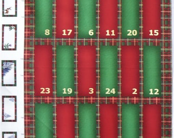 Celtic Stag Advent Panel